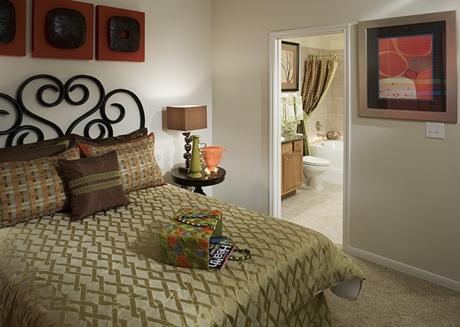 Camden Panther Creek Apartment Bedroom Frisco Apartments