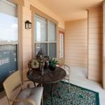 Lebanon Ridge Apartment Patio