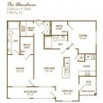 Lodge at Frisco Bridges Apartment Floor Plan