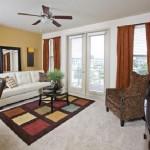 Post Sierra at Frisco Bridges Apartment Living Room