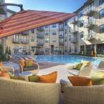Post Sierra at Frisco Bridges Apartment Pool Area