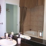 The Residences at Frisco Square Plaza & Boulevard Apartment Washroom