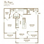 Cypress Lake at Stonebriar Apartment Floor Plan