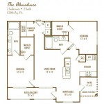 Lodge at Frisco Bridges Apartment Floor Plan
