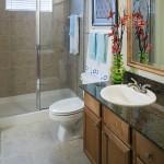 Camden Panther Creek Apartment Bathroom