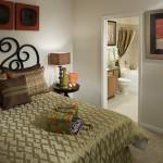 Camden Panther Creek Apartment Bedroom