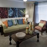Camden Panther Creek Apartment Living Room